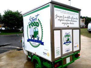 Food truck Ape Piaggio
